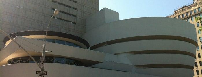 Solomon R Guggenheim Museum is one of Manhattan!.