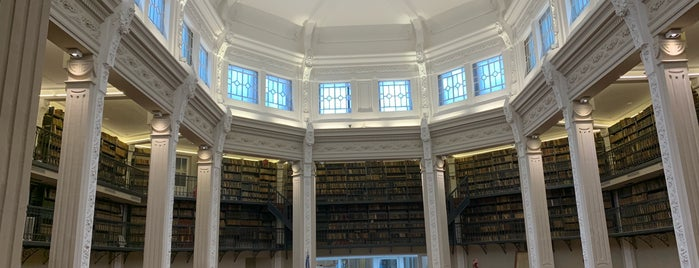 "Biblioteca Argentina ""Dr. Juan Álvarez"" is one of Rosario."