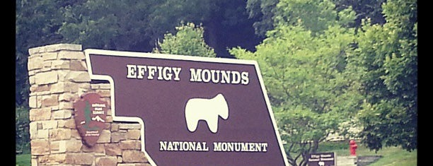 Effigy Mounds National Monument Visitor Center is one of Iowa.