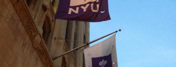 New York University is one of New York City.