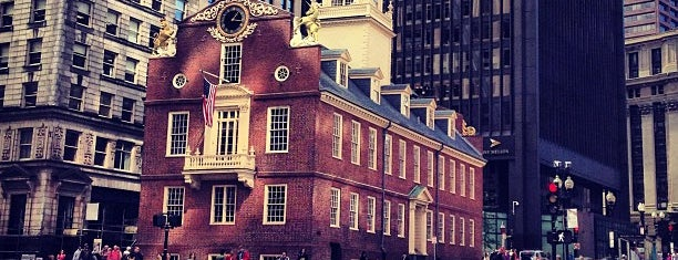Old State House is one of Boston.