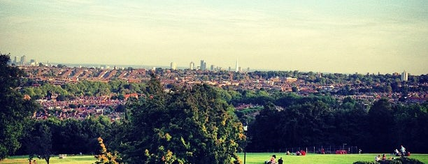 Alexandra Park is one of London.