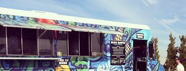 Blue Route Taco Truck is one of Lieux qui ont plu à Scott.