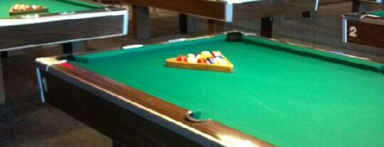 Click's Billiards is one of Orte, die Matt gefallen.