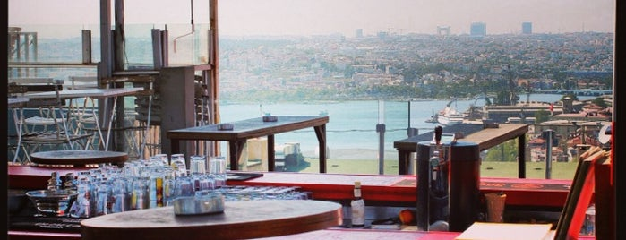Balkon Bar is one of taksim.