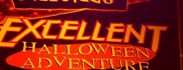 Bill & Ted's Excellent Halloween Adventure is one of Universal Studios.