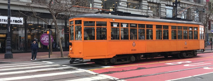 MUNI Stop ID #15655 Market & 5th OUTBOUND 6 7 9 is one of San Francisco!.