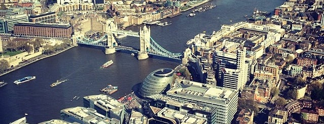 The View from The Shard is one of Breathtaking Views of London.