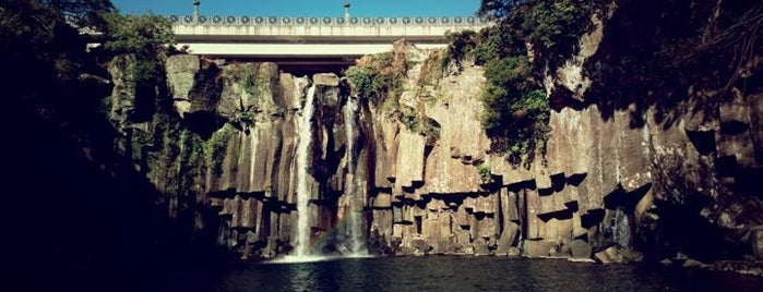 Cheonjeyeon Waterfall is one of South Korea.
