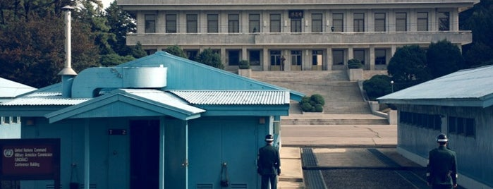Panmunjeom/Joint Security Area is one of South Korea.