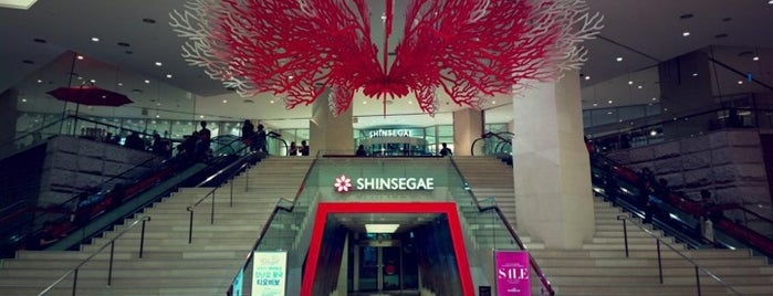 SHINSEGAE Department Store is one of South Korea.
