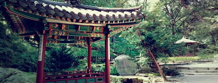 Huwon, Secret Garden is one of Seoul.