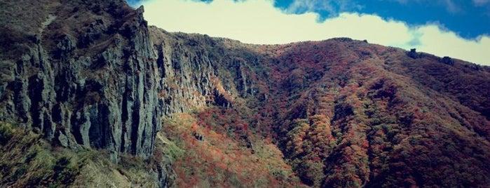 한라산 영실코스 is one of South Korea.