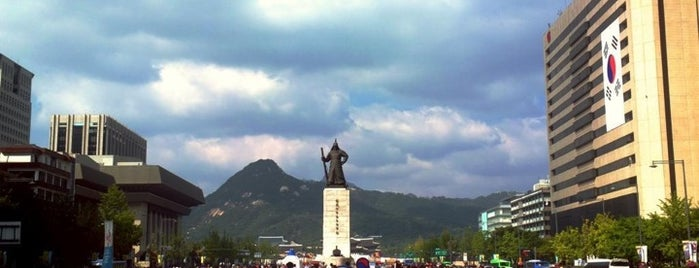 The Statue of Admiral Yi Sunsin is one of South Korea.
