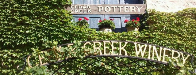 Cedar Creek Winery is one of Posti che sono piaciuti a Jen.