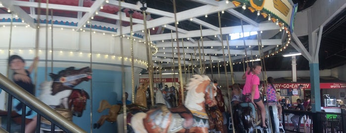 Eldridge Park Carousel is one of Best places to go in Mark Twain Country!.