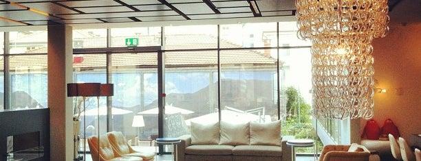 Novotel Lugano Paradiso is one of Locais curtidos por Khalid.