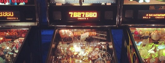 GameWorks is one of Pinball Destinations.