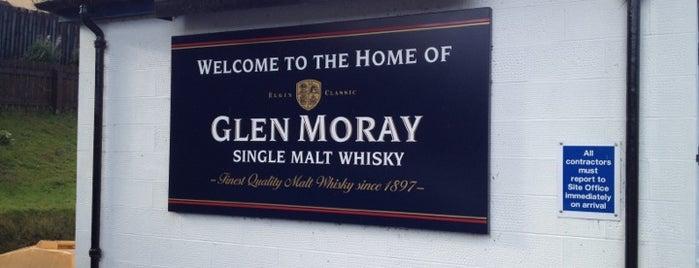 Glen Moray Distillery is one of Carolineさんのお気に入りスポット.