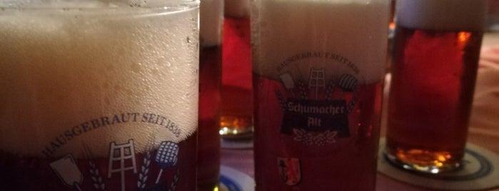 Brauerei Schumacher is one of Alisa'nın Beğendiği Mekanlar.
