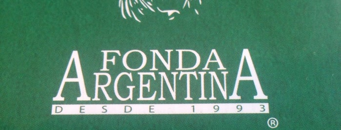 La Fonda Argentina is one of Lieux qui ont plu à Charles.