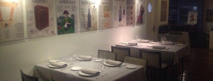 Urkiola Mendi is one of Restaurantes Madrid.