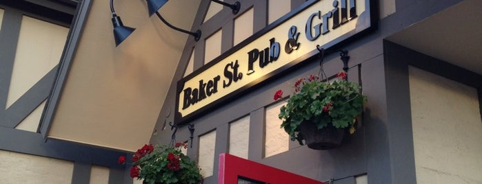 Baker St. Pub & Grill is one of Locais curtidos por Raquel.