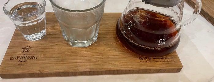 The Espresso Lab is one of สถานที่ที่ Waleed ถูกใจ.