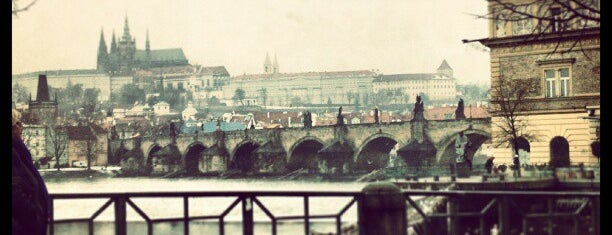 Smetanovo nábřeží is one of Prague.