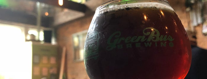 Green Bus Brewing is one of Best of Huntsville.
