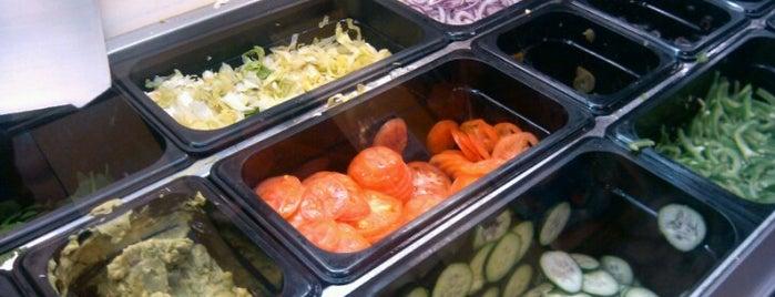 Subway is one of foodie.