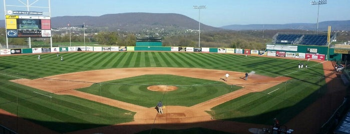 Medlar Field at Lubrano Park is one of check ins.