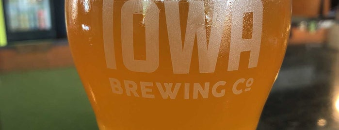 Iowa Brewing Co. is one of Find the Source.