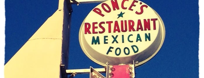 Ponce's Mexican Restaurant is one of San Diego Faves.