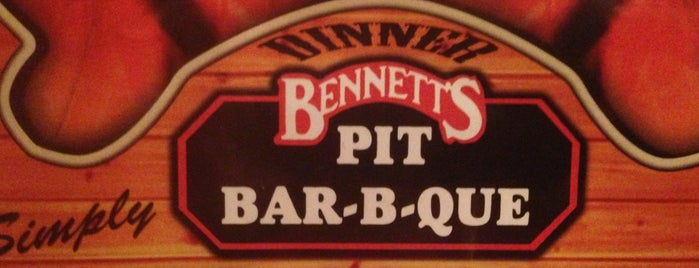 Bennett's Pit Bar-B-Que is one of Trip west.