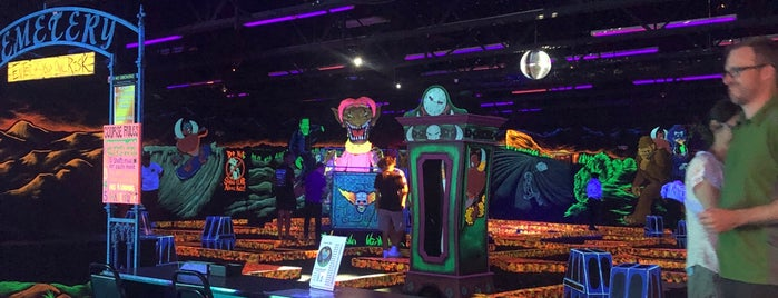 Monster Mini Golf - Denver is one of To Visit.