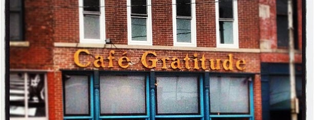 Café Gratitude is one of Hip.