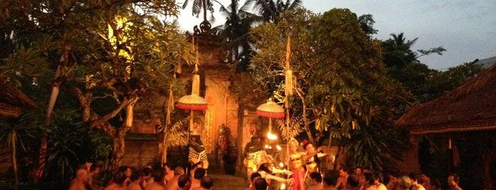 Sahadewa Barong And Kris Dance is one of Bali.