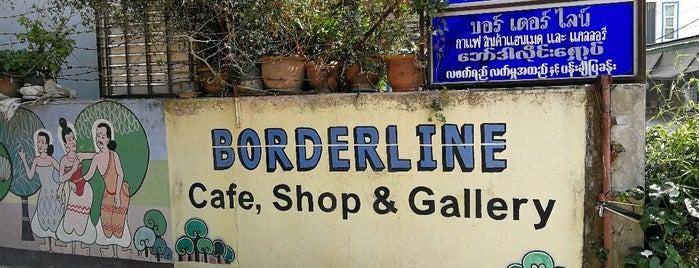 Borderline Tea Shop is one of Thailand/Myanmar.