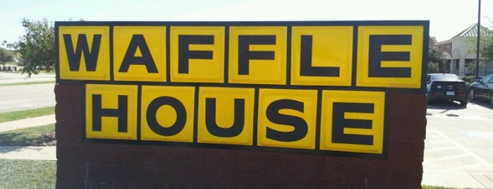 Waffle House is one of DFW Breakfast.