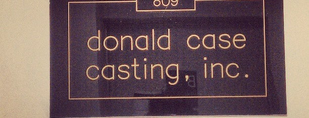 Don Case Casting is one of Acting And The City.