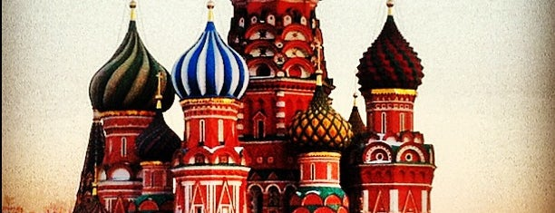 St. Basil's Cathedral is one of Moscow.
