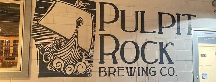 Pulpit Rock Brewing Company is one of NE IOWA TRIP.