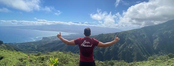 Waihe'e Ridge Trail is one of Hawaii.