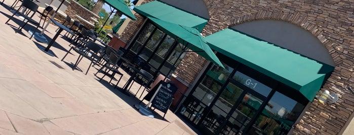 Starbucks is one of Palm Springs.
