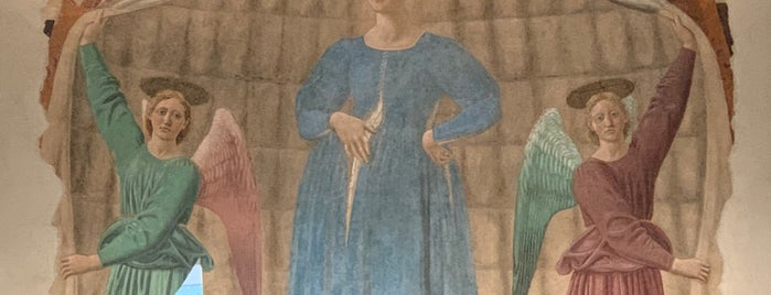 Madonna del parto - Piero Della Francesca is one of Tuscany with kids.