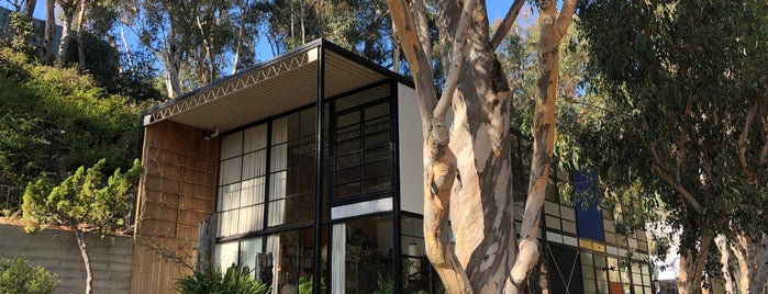 The Eames House (Case Study House #8) is one of Lieux qui ont plu à Lauren.