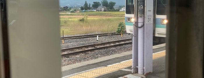 有明駅 is one of JR 고신에쓰지방역 (JR 甲信越地方の駅).