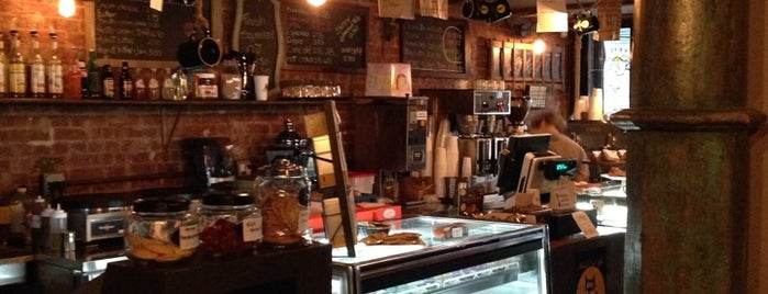Black Cat Coffee is one of Favorites Coffee Shops in NY.