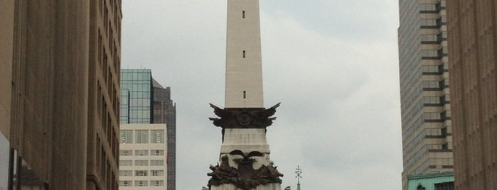 Monument Circle is one of Jared's Liked Places.